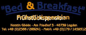 Pension, Hotel in Legden nahe Ahaus und Coesfeld